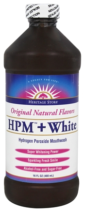 HERITAGE PRODUCTS HPM + White 16 fl.oz