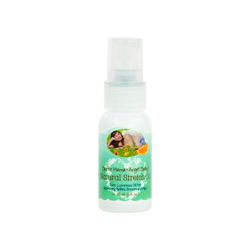 EARTH MAMA - ANGEL BABY Natural Stretch Oil 4 fl.oz