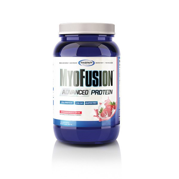 GASPARI NUTRITION MyoFusion Advanced Protein Strawberries & Cream 2 lbs