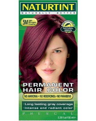 Naturtint Permanent Hair Colorant Light Mahogany Chestnut 5.98 fl.oz